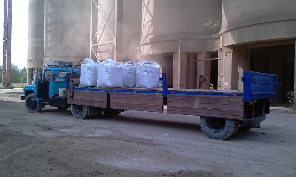Big bag, это лучшая упаковка при транспортировки керамзита